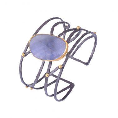 sapphire cuff