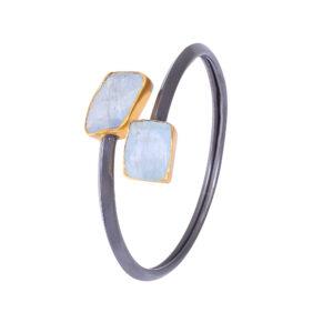 aquamarine cuff
