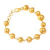 hammered beads bracelet