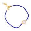 silver gold plated bracelet