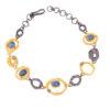 aquamarine diamond bracelet
