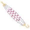 ruby rotile bracelet